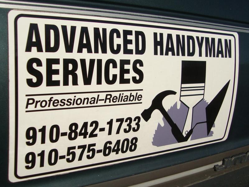 Advanced Hanyman Services, home repair, painting, construction, remodeling